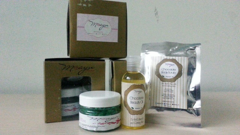 Beauty products dari @MoAyu_ID