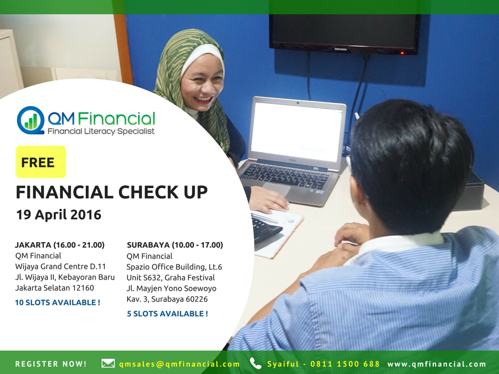 Eflyer Free Check Up 19 April