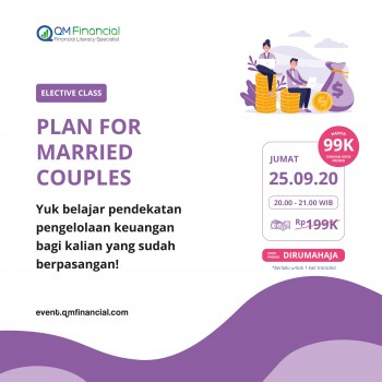 Elective Class: Plan for Married Couples - 25 September 2020